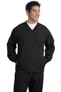 NEW Sport-Tek® - V-Neck Raglan Wind Shirt.